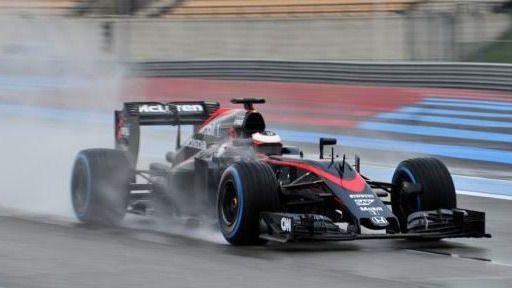 Ferrari, Red Bull y McLaren prueban los neumáticos de lluvia en Paul Ricard