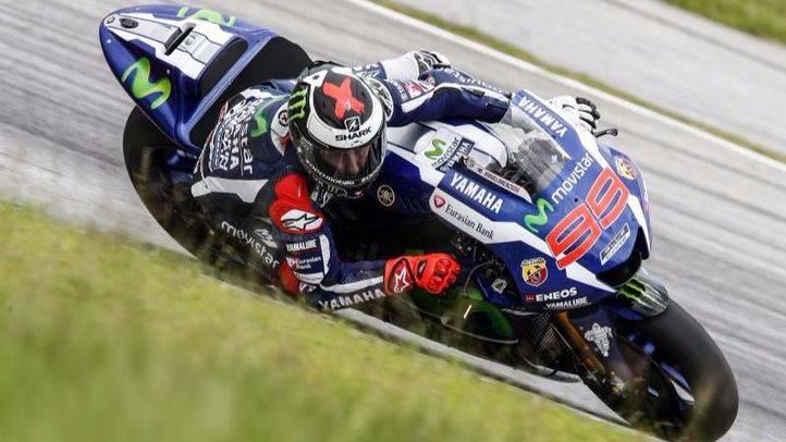 Jorge Lorenzo en la última jornada del test oficial de MotoGP en el Circuito Internacional de Sepang