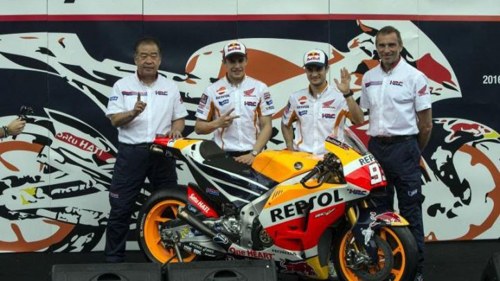 Repsol Honda desvelan la nueva RC213V