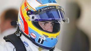 """Alonso, 119 vueltas """"a paso de tortuga"""""""