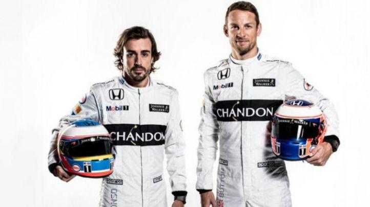 McLaren comienza con el 'fogueo' mediático