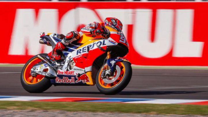Marc Márquez (Repsol Honda Team) ganador de MotoGP 1