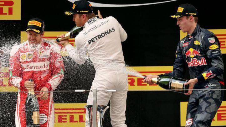 'Paseíto' de Rosberg en China