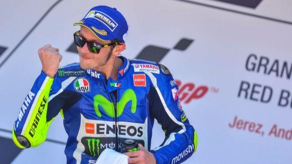 Valentino Rossi. Ganador en Moto GP1
