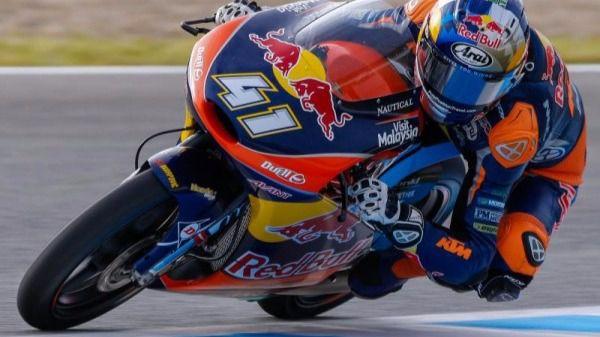 Brad Binder. Ganador en Moto3