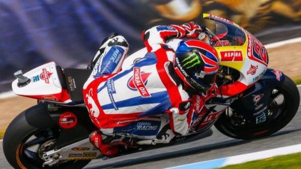 Sam Lowes. Ganador en Moto2
