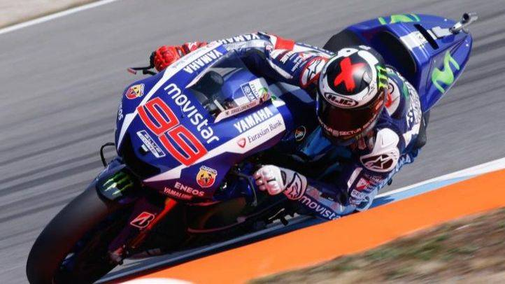 Lorenzo, polo en MotoGP 1