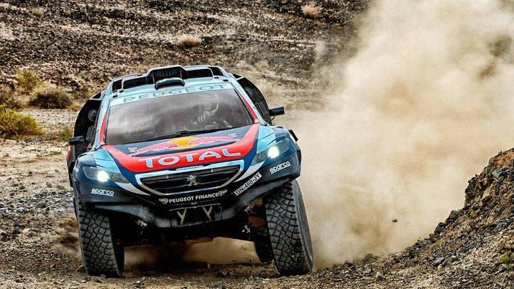 """Peugeot testea el 2008 DKR en un rallye """"placentero"""""""