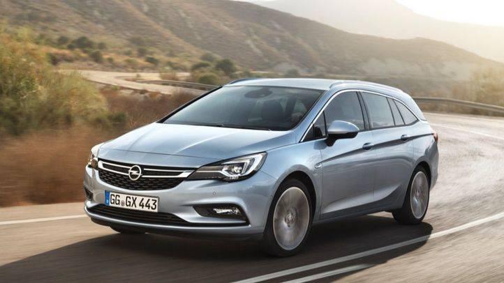 Opel Astra y Astra Sport Tourer, más ligero y estilizado
