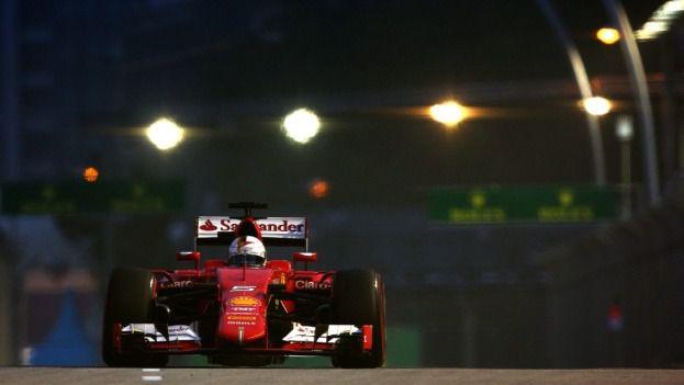 Vettel Pole