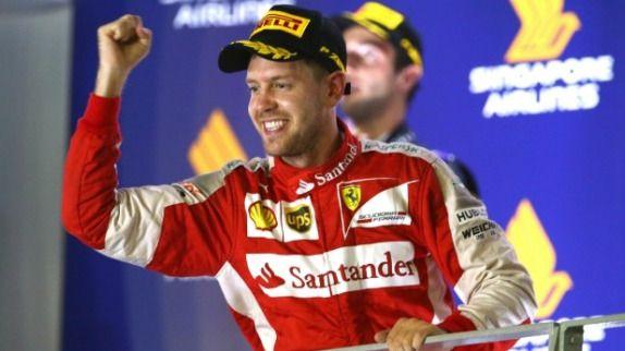 GP de Singapur, Vettel logra la victoria y doblete de McLaren en el garaje