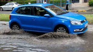 Efectos de la lluvia después de la tormenta del 11 de junio en la ciudad de Madrid.