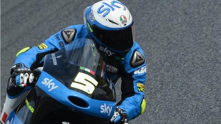 Fenati pole en Moto3