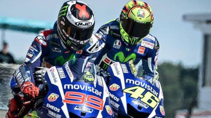 Rossi y Lorenzo
