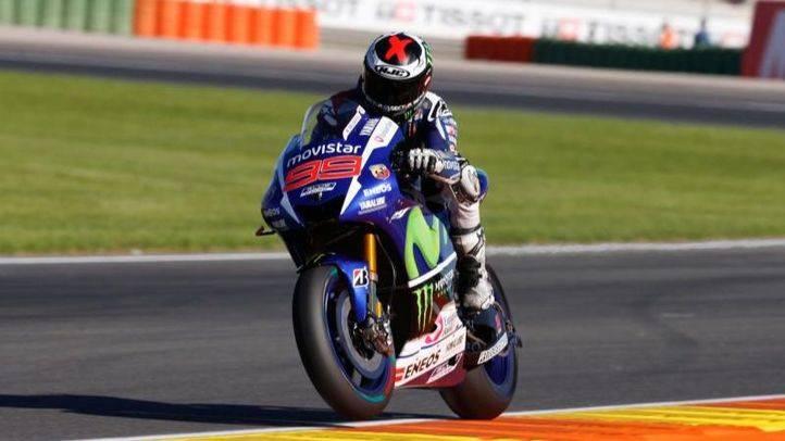 Jorge Lorenzo pole en MotoGP 1