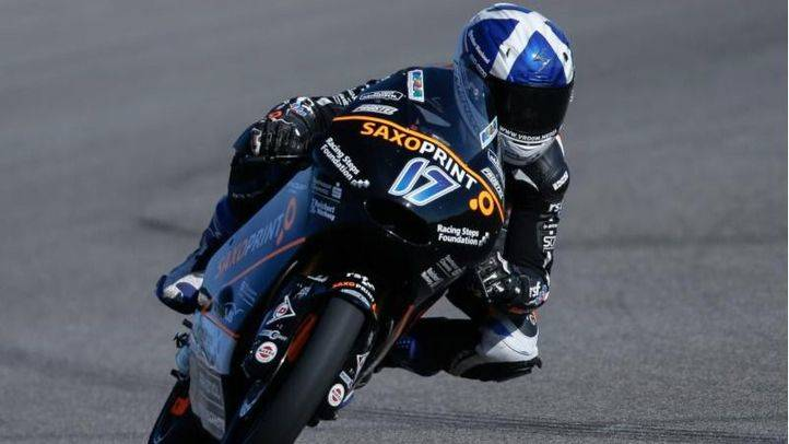 McPhee pole en Moto3