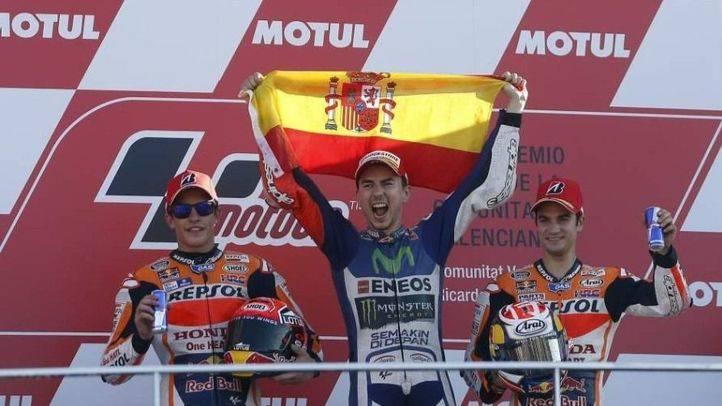 Jorge Lorenzo, campeón incontestable en Valencia