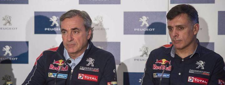 Carlos Sainz y Lucas Cruz en busca de la victoria en el Dakar 2016