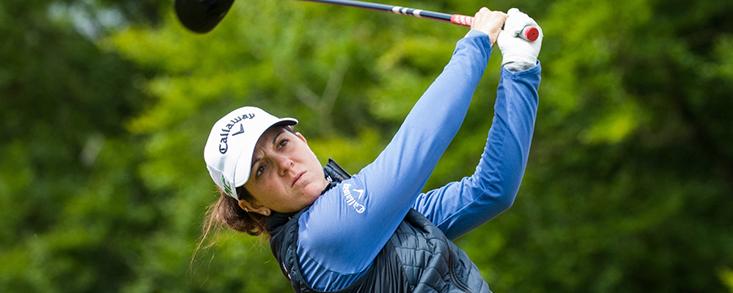 Emma Talley lidera el ISPS HANDA World Invitational con tres golpes de ventaja