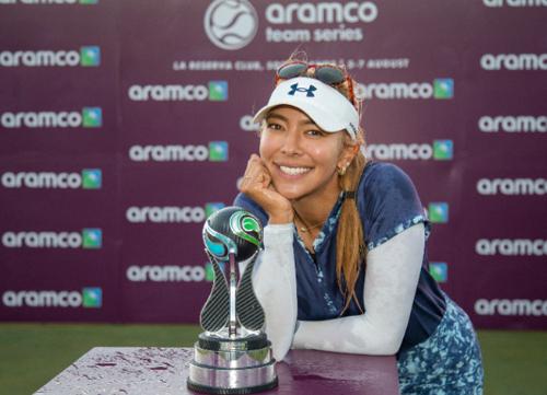 Alison Lee se proclama ganadora individual del Aramco Team Series de Sotogrande