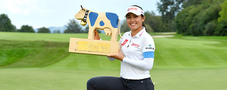 Atthaya Thitikul suma su segundo título de la temporada en el Ladies European Tour