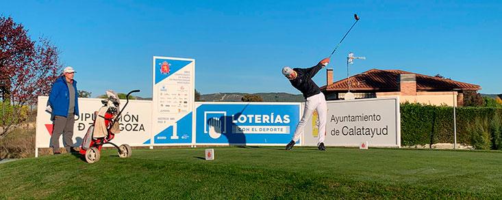 Trece golfistas pasan la previa del Campeonato de España de Profesionales