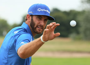Días de descanso para Dustin Johnson