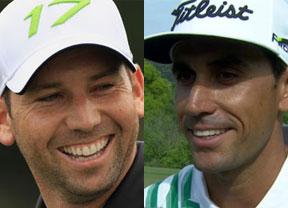 Sergio García, 29 a 1, y Rafa Cabrera, 141 a 1