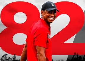 Vea la última ronda de Tiger Woods en Japón