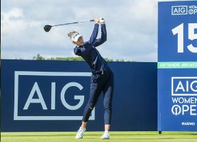 Nelly Korda no defrauda en su papel de favorita en el AIG Women's Open