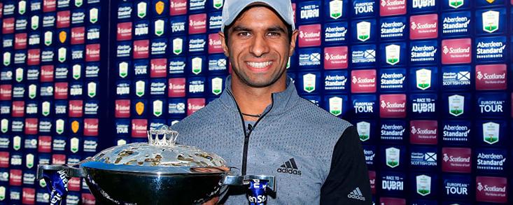 Aaron Rai (-11) gana el ASI Scottish Open en desempate con Tommy Fleetwood
