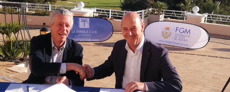 La Federación de Madrid y La Manga Club anuncian un acuerdo para sus federados
