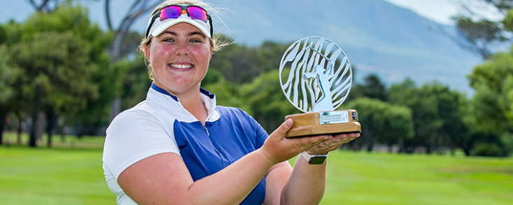 Alice Hewson arranca su carrera el Ladies European Tour con victoria