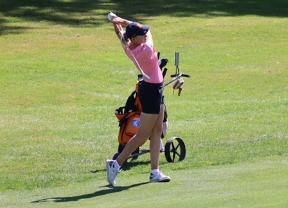 Teresa Diez a un golpe en el Lavaux Ladies Open