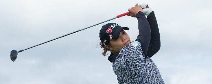 Triple empate a falta de la ronda dominical en el Trust Golf Women's Scottish Open