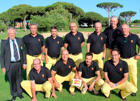 Bronce para España en la Copa de Europa de Golf Adaptado