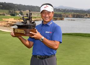K.J. Choi, más cerca de la victoria en el Champions Tour
