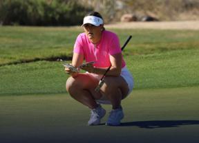 La amateur Olivia Mehaffey nueva líder en Arizona