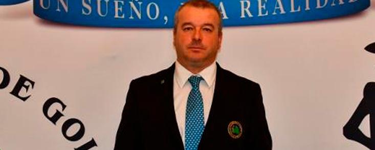 Carlos Gutiérrez, al frente de la Federación de Golf de Castilla La Mancha