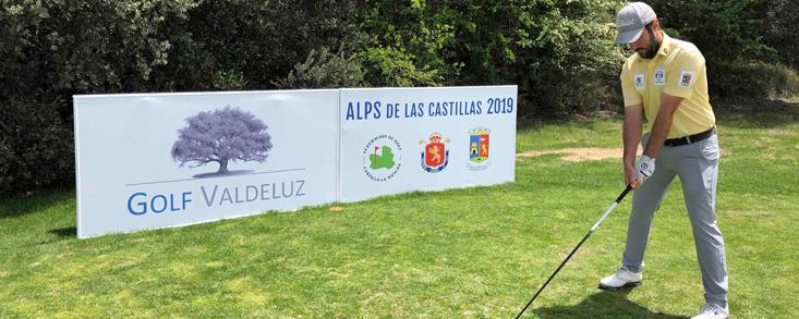 Daniel Berná: 'Golf Valdeluz hay que jugarlo con mucha tranquilidad'