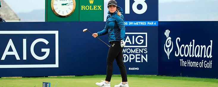 Daniela Holmqvist asume el liderato en el AIG Women's Open