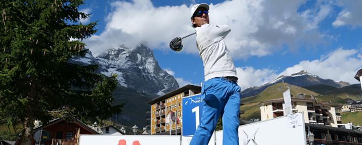 Jordi García del Moral comienza liderando el Cervino Alps Open