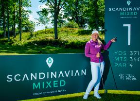 Christine Wolf y Sam Horsfield colideran el Scandinavian Mixed