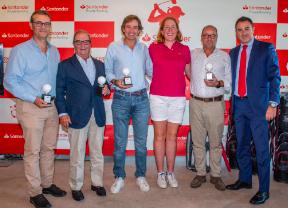 El equipo de la francesa De Pradenne gana el Pro-Am de La Peñaza