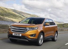 Ford Edge, el SUV de gama alta llega a Europa