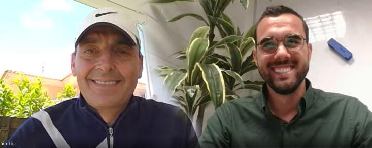 Teo Arnaldo y Fran García: 'El Gravit es perfecto para entrenar en casa'