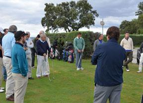 Decathlon viaja hasta El Nuevo Club de Golf de Madrid