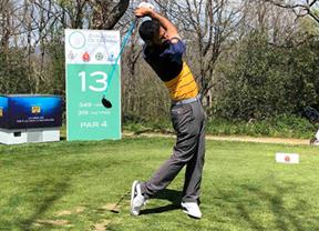 La ronda de entrenamiento marca el inicio del Challenge de España en Izki Golf