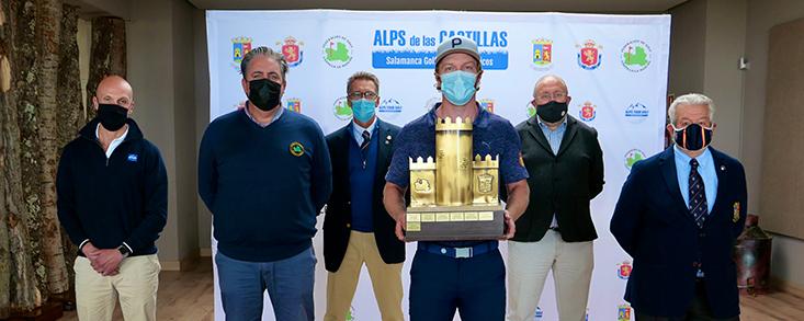 Jacobo Pastor se impone al viento en Zarapicos y gana el Alps de las Castillas