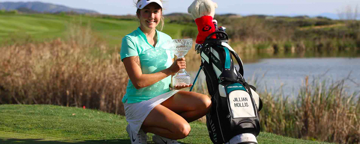 Jillian Hollis se impone en el IOA Championship